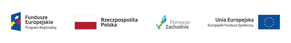Polska Fundacja Przedsiębiorczości - Fundusz Usług Rozwojowych logotypy UE, Pomorze Zachodnie
